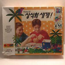 Korean Board Game Name it Quotes of Common Sense Memory General Knowledge