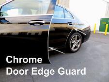 Fit 2004-2019 Ford-Models CHROME DOOR EDGE GUARD Protector Trim 4pcs Kit
