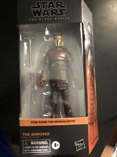 "?Star Wars Black Series The Mandalorian 04 The Armorer 6"" Action Figure?"