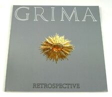 Andrew Grima Retrospective Jewellery book Omega About Time 1991 Catalogue 18kt