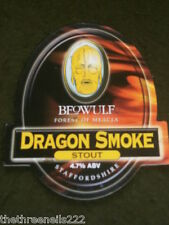 BEER PUMP CLIP - BEOWULF DRAGON SMOKE STOUT