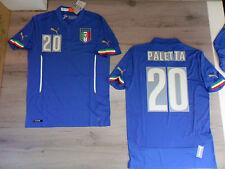 FW14 PUMA M HOME ITALIA 20 PALETTA MAGLIA MAGLIETTA MONDIALI SHIRT JERSEY
