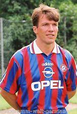 Lothar Matthäus Bayern München 1995-96 seltenes Foto+4