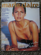 1990 Italy Marie Claire YASMEEN GHAURI Gail Elliot Claudia Schiffer Daryl Hannah