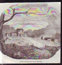 1846   --  FERME AMERICAINE DANS LE KENTUKY  P021