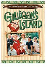 GILLIGAN'S ISLAND COMPLETE SERIES SEASONS 1,2,3 + PILOT EPISODE R4 17 DISC NEW!