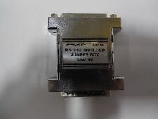 ARCHER, RS232 CONNECTOR,25 PIN, SHIELDED JUMPER BOX.