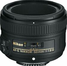 NEW NIKON AF-S NIKKOR 50MM F/1.8G LENS SUPER INTEGRATED LENS COATING SLR CAMERA