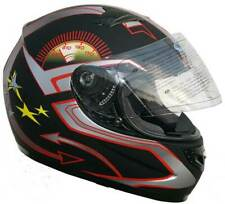 Integralhelm FF1 Schwarz Speedstar Motorradhelm Rollerhelm Quadhelm Mofa L