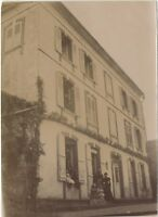 Compiegne? Francia 3 Foto snapshot Amateur Vintage Citrato 1896