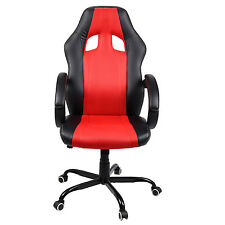 Racing Office Chair High Back Relax Gaming Executive Computer Ergonomic Desk Red