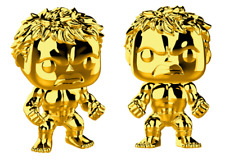 Funko Pop Marvel Studios 10 Gold Chrome Hulk - Stylized Vinyl Figure 379