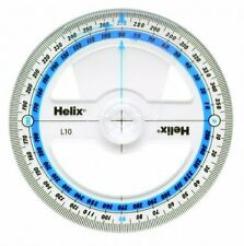 Helix 360 Degree Protractor Angle Measure - 10cm, 100mm - School, Maths, Item