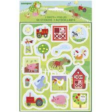 Farm Animal Stickers | Kids Farm Party | Farm Party Bag Fillers | Farm Craft