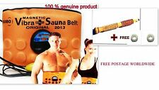 3 in 1 Sauna Belt Massager Slimming Magnetic Acupressure Vibration Fat Burner