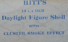 Hitt Fireworks Company Seattle, WA Daylight Figure Shell Label Hitt's