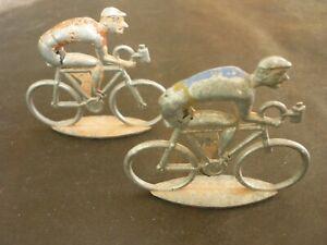 2 cyclistes Cofalu grand modèle. k11
