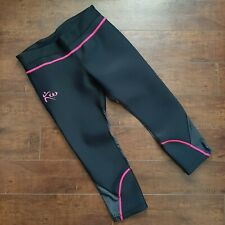Kutting Weight Sauna Capri Pants Black Size Medium