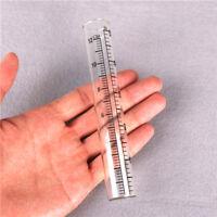 Tube de remplacement de jauge de pluie en verre de 22 * 140mm à la maison eOP