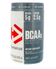 NEW DYMATIZE NUTRITION BCAA BRANCHED CHAIN AMINO ACIDS UNFLAVORED BODY DIETARY