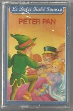 Le dolci Fiabe Sonore - Peter Pan / La lepre e la tartaruga - MC MUSICASSETTA