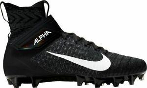 Nike Alpha Menace 2 Elite TD American Football Cleats Navy Black UK 9