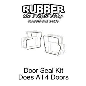 1959 Ford Door Seal Kit Does All 4 Doors - 4 Door Sedan / Wagon