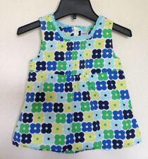 Gymboree Gymbo Blue Yellow Green Fashion Flower Daisies Top Shirt Girls Size 6