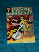 MARVEL FANFARE # 51, June 1990, SILVER SURFER! JOHN BUSCEMA ART! VERY FINE