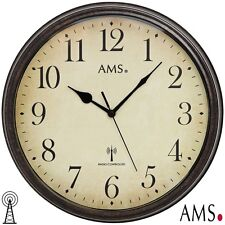 AMS 5962 Funk Wanduhr Uhren-neu