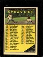 1961 TOPPS #361 CHECKLIST 353-429 EXMT+  *X2396