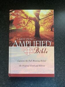 Amplified Bible by Zondervan (Hardcover, 1987)