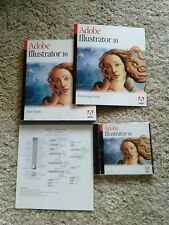 Adobe Illustrator 10 Full Version for Windows Complete Retail Package