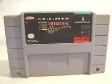 Tommy Moe's Winter Extreme: Skiing & Snowboarding (Super Nintendo Entertainment