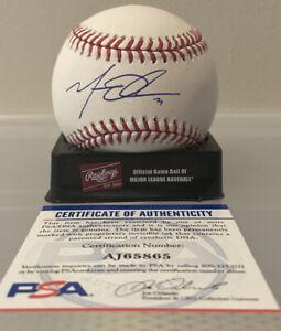 Matt Olson Oakland Athletics Autographed Official MLB Baseball PSA/DNA Cert
