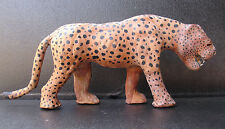 vintage leopard figurine collectible,decor