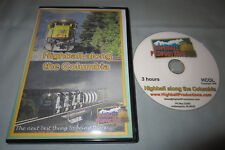 Highball along the Columbia 1996 BNSF Union Pacific Train Locomotive DVD Video