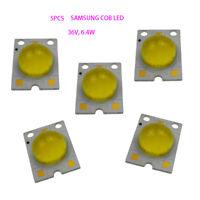 5PCS High Power COB LED 36V6.4W LED Chip Cool White 5000K for Signal Lamp DIY EL