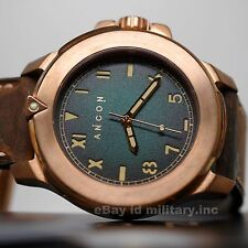 ANCON CHALLENGER BRONZE DIVER 200M WATCH CH006 NEW IN BOX INTERNATIONAL SHIPPING