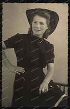 Foto-Studio-Portrait-Frau-Hut-Cute-Woman-Lady-Hat-
