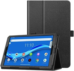 """For Lenovo Tab M8 Case Leather Folio Stand Cover  (8.0"""")"""