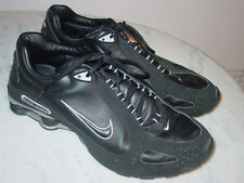 925355c9b2a9 2008 Mens Nike Shox Monster SI Black Metallic Silver Running Shoes! Size 12