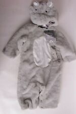 NWT Pottery Barn Kids Baby Hippo costume 6-12 month 9 mos Halloween