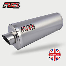 Yamaha YZF600 R6 03-05 Slash Brushed S/S Oval Mini UK Street Legal Exhaust Can
