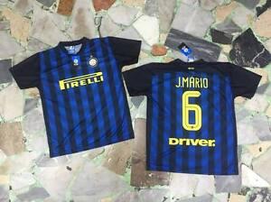 1 Camiseta Joao Mario 6 Inter Oficial FC 2017 Home Barato