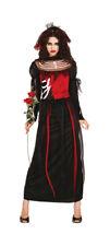 Disfraz de Vampiro Novia Mujer Halloween Carnaval Vestido Velo M 36/38 % Oferta