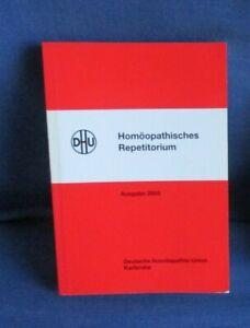 Homöopathisches Repetitorium Ausgabe 2003