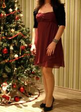 42 weinrot C.M Gr Schönes Kleid//Strickkleid von Laura Scott °95