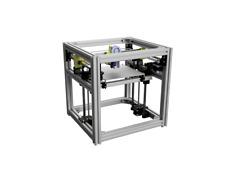 Bausatz für einen Hypercube Evolution 300 oder 400mm³, Silber oder Schwarz