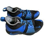 NIKE Paul George PG 2 ID Men's Basketball Shoes Size 10 CI0280-991 Blue Black